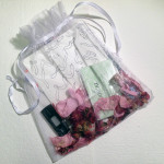 Meghan O'Neill gift baggie, 2015 drawing, usb with songs, bottle with blobs Original $20