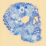 """Kirsten McCrae It Chooses You, 2013 11.5 x 11.5"""" two-colour risograph print Unframed, open edition $20"""