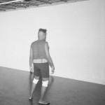 "Duncan Alexander Cameron Stewart, Aisha (Portrait of a Dancer), 2015 11"" x 8.5"" B/W photographic print Framed, edition 1/3 $50"