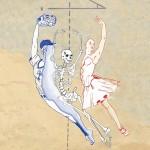 """Sarah D'Angelo Degrees of Flamboyance, 2015 16 x 20"""" illustration Framed, multiple $100"""