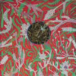 "Sab Meynert the irruption inside us becomes us, 2014 10x10"" ink & gouache on 300lbs watercolour paper Unframed, original $250"